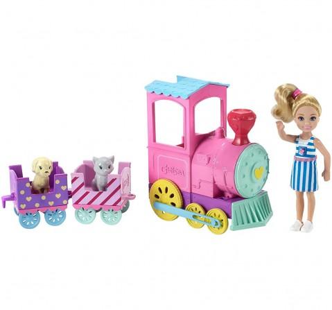 Barbie Club Chelsea Doll And Choo-Choo Train Playset Dolls & Accessories for Girls age 3Y+