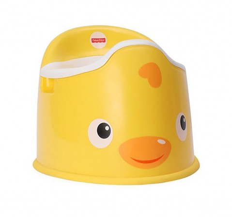 Fisher Price Potty Seat - Yellow Baby Gear for Kids age 9M+ (Yellow)