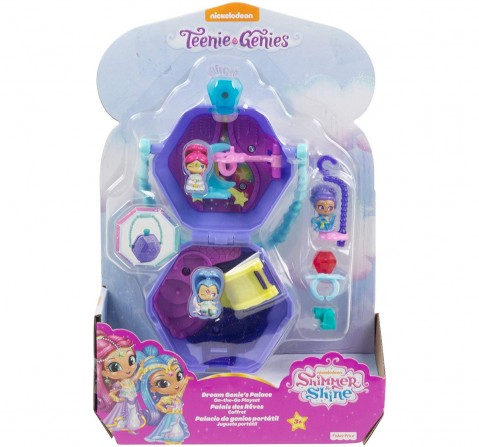 Shimmer And Shine Small Doll On The Go Playset Assorted Dolls & Accessories for Girls age 3Y+