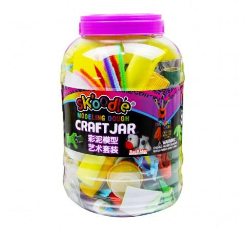 Skoodle Modeling Dough Craft Jar,Unisex, 3Y+ (Multicolor)