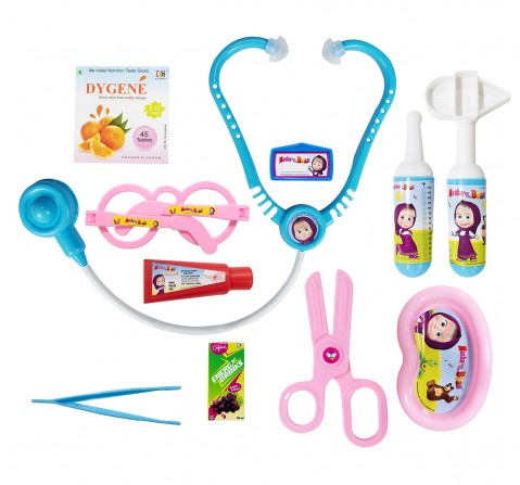 Masha & the Bear Role Play Set Doctor Set For Kids, 3Y+