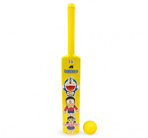 IToys Doremon Bat And Ball Set, Assorted, Unisex, 2Y+ (Multicolor)