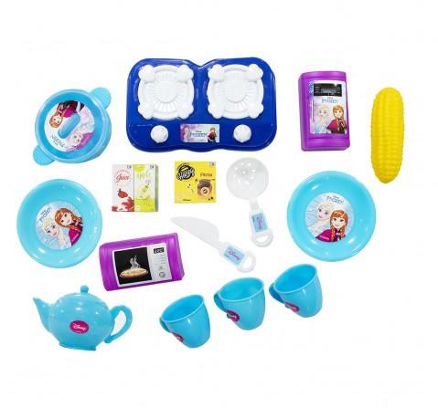 Disney Frozen Kitchen set of 16 pcs. role play toys for kids, 3Y+
