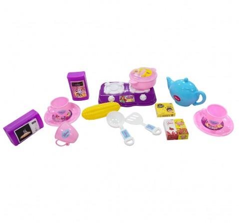 Disney Princess Kitchen set of 16 pcs. role play toys for kids, 3Y+