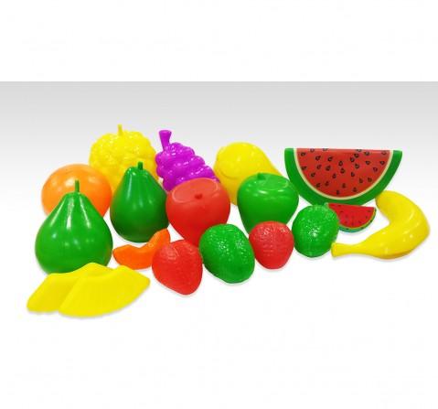 I Toys 18 Pcs Fruits set for kids, 3Y+