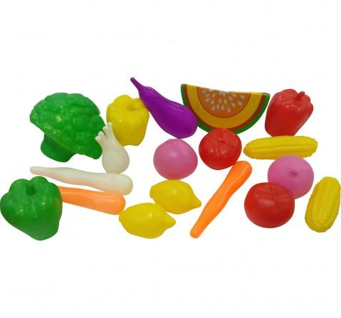 I Toys 18 Pcs Vegetable set for kids, 3Y+
