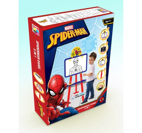 Marvel Spiderman 5 In 1 Easel Board for Kids age 5Y+