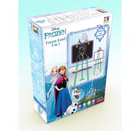 Marvel Frozen 5 In 1 Easel Board for Kids age 5Y+