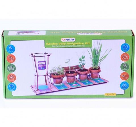 Funvention Garden Drip Irrigation Kit Stem for Kids Age 5Y+