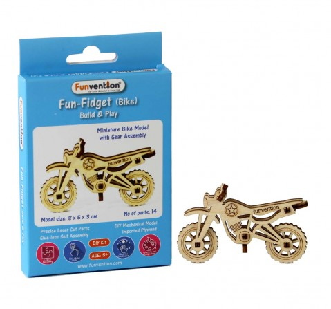 Funvention Fun Fidgets - Assorted - Bike Model Stem for Kids Age 5Y+