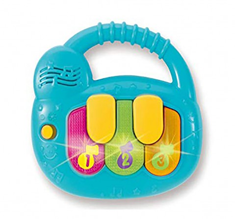 Winfun Baby Musician Keyboard -New Born for Kids age 3Y+ (Blue)