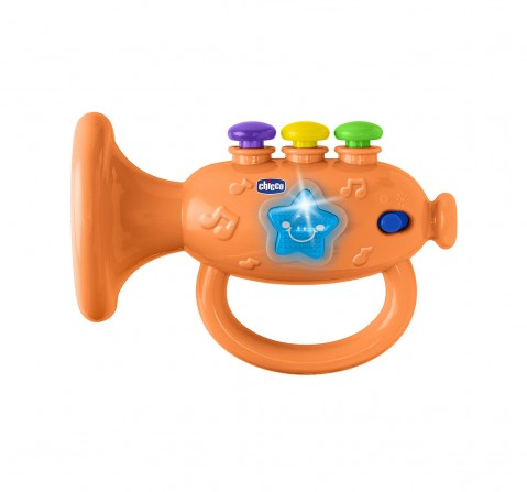 Chicco Musical Trumpet Activity Toy with Light for Kids age 3M+