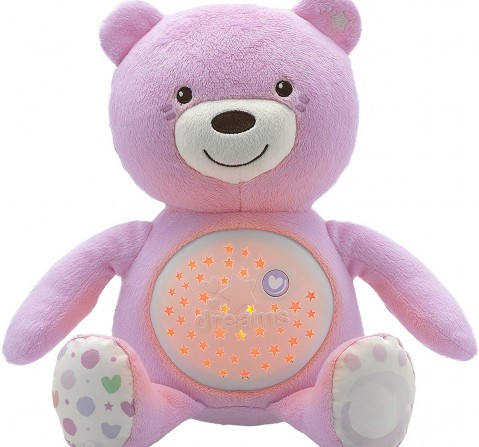 Chicco First Dreams Baby Bear for New Born Kids age 0M+ (Pink)