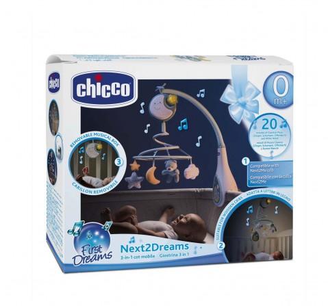 Chicco Next 2 Dreams Mobile - Blue New Born for Boys age 0M+