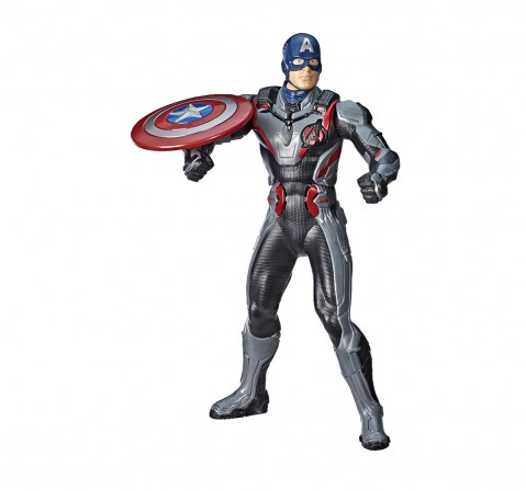 Marvel Avengers Th Power Fx 2 Hero Captain America Action Figures for Boys age 4Y+