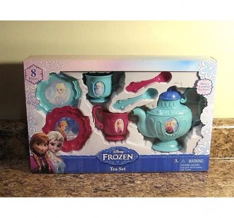 Disney Frozen Tea Set - 8Pcs Dolls & Accessories for Girls age 8Y+