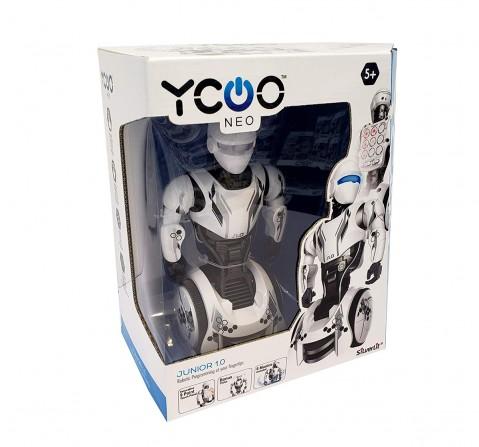 Silverlit Ycoo Junior 1.0 Robot-White Robotics for Kids age 5Y+ (White)
