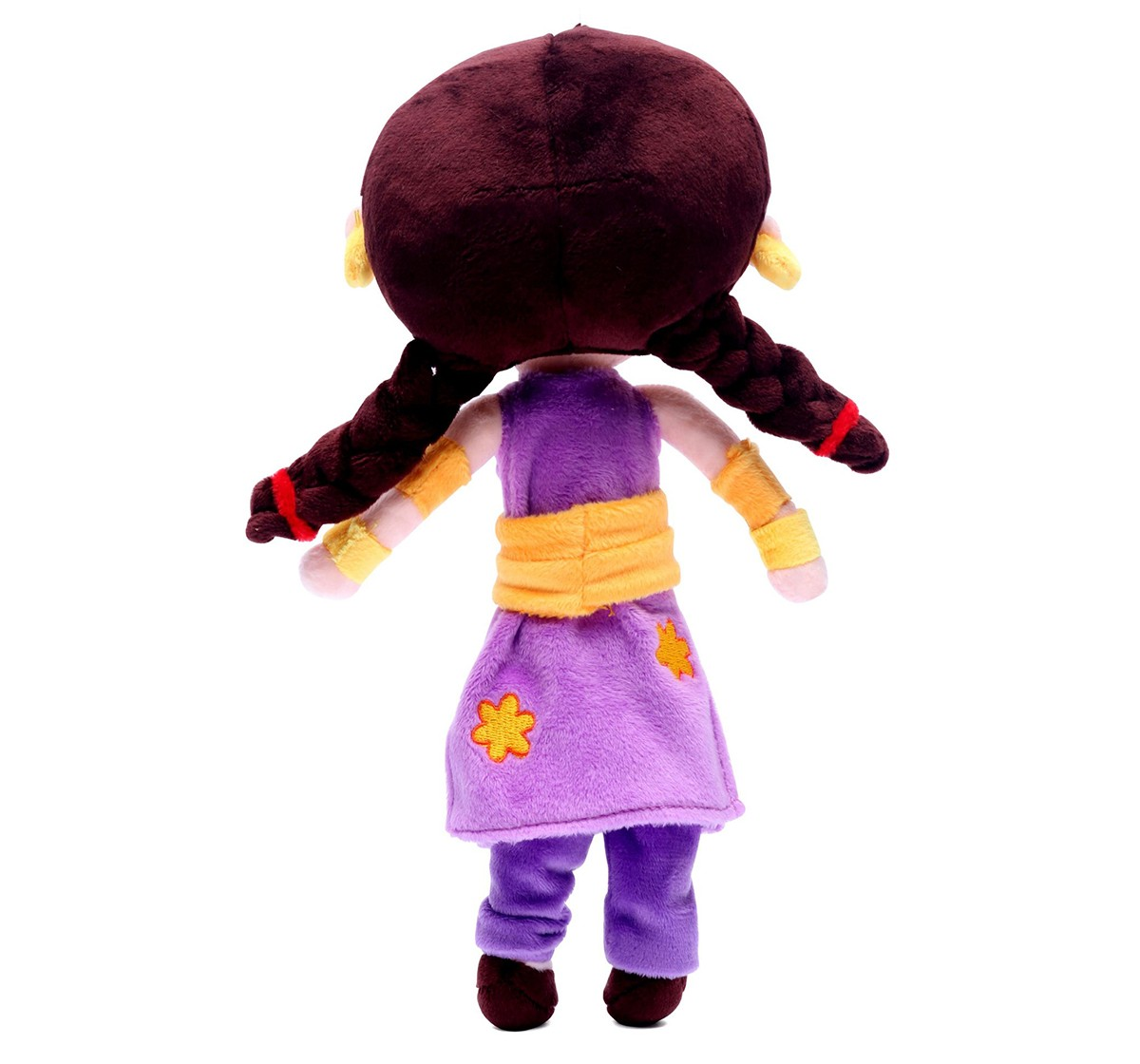 Chhota Bheem Kung Fu Dhamaka Chutki Plush Toy - 30Cm Character Soft Toys for Kids age 3Y+ - 30 Cm