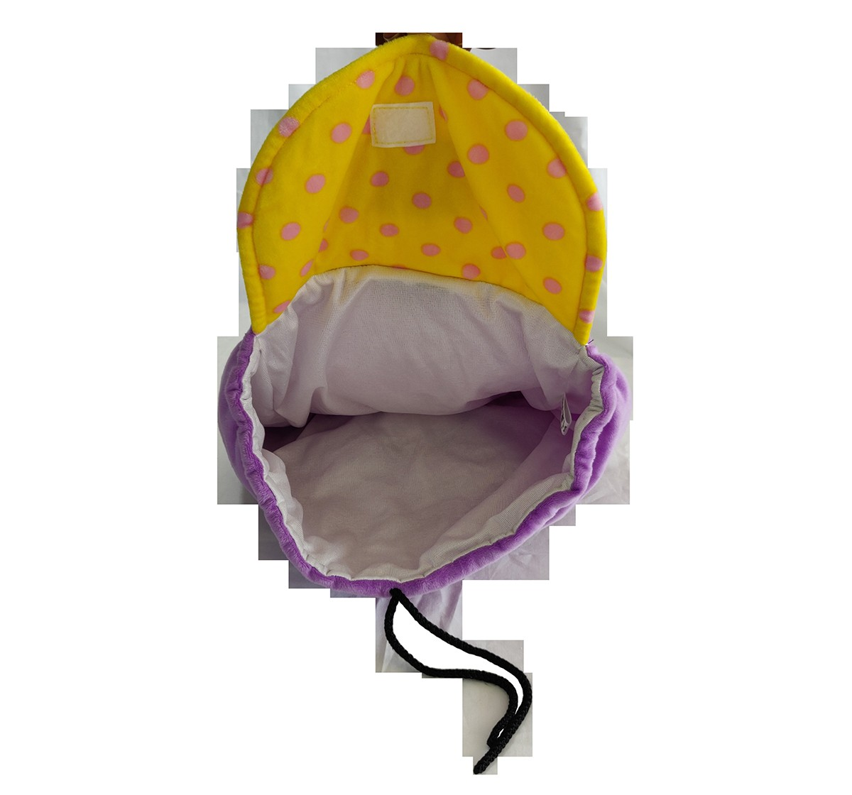 "Chhota Bheem Kfd Kia 3D Face Plush Bag - 12"" Plush Accessories for Kids age 3Y+ - 30.5 Cm (Purple)"