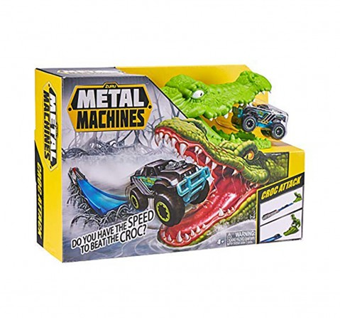 Zuru Metal Machines Crocodile Mini Racing Car Tracksets & Train Sets for Kids age 4Y+