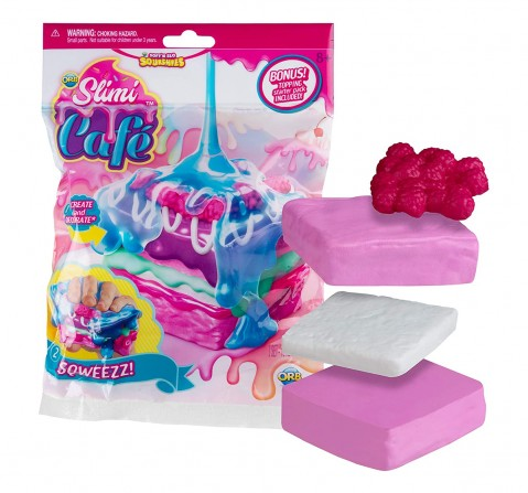 Slimi Cafe Orb  Squishies Assorted Sand, Slime & Others for Kids age 5Y+
