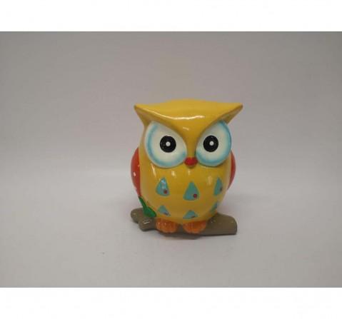 Karma Money Bank Owl Shape Novelty for Kids age 3Y+