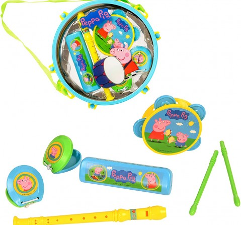 Peppa Pig - Packaway Music Set Other Instruments for Kids age 3Y+