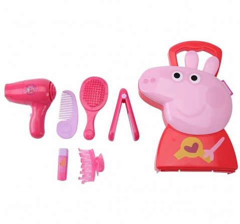 Peppa Pig Hair Case Girls Accessories for Kids age 3Y+ (Pink)