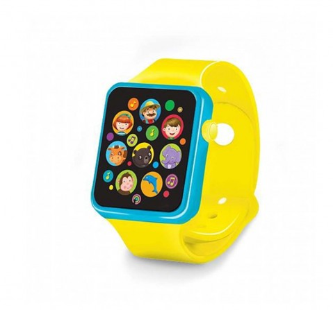 Az Toys Musical Watch Learning Toys for Kids Age 2Y+ (Yellow)