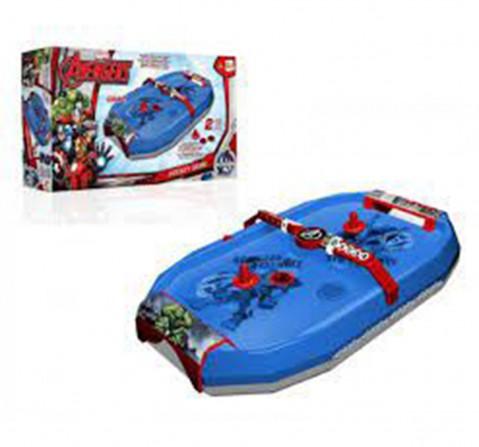 Avengers Air Hockey Game 51Cms, Unisex, 3Y+ (Blue)