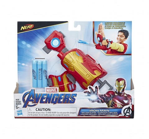 Marvel Avengers Iron Man Repulsor Role Play Action Figure Play Sets for Boys age 5Y+