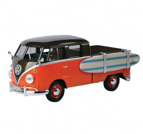 Motormax 1:24 Volkswagen Type 2(TI) Pickup w/Surfboard Vehicles for Kids age 3Y+