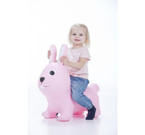Gerado Jumpy Hopping Bunny for Kids age 1Y+ (Pink)