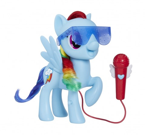 My Little Pony Singing Rainbow Dash Collectible Dolls for Girls age 3Y+