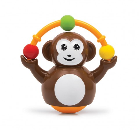 Giggles Push N Crawl Monkey Early Learner Toys for Kids age 6M+