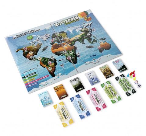 Borad Education ZOOZONE ADVENTURER Board Game for Kids age 10Y+