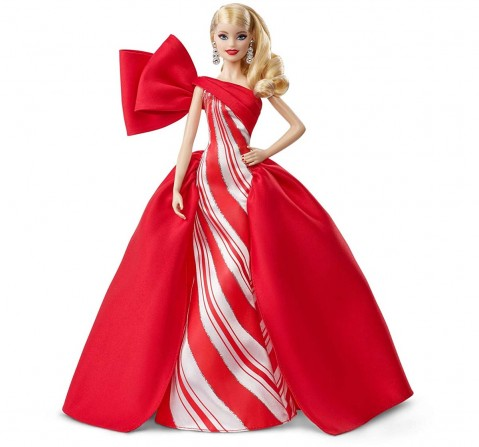Barbie Holiday Blonde Curls Dolls & Accessories for Girls age 6Y+