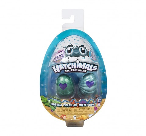 Hatchimals Colleggtibles S5 2 Pack With Nest Novelty for Kids age 3Y+ - 4.318 Cm