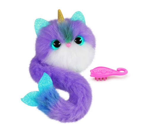 Pomsies Bubbles Interactive Soft Toys for Kids age 3Y+ - 35 Cm