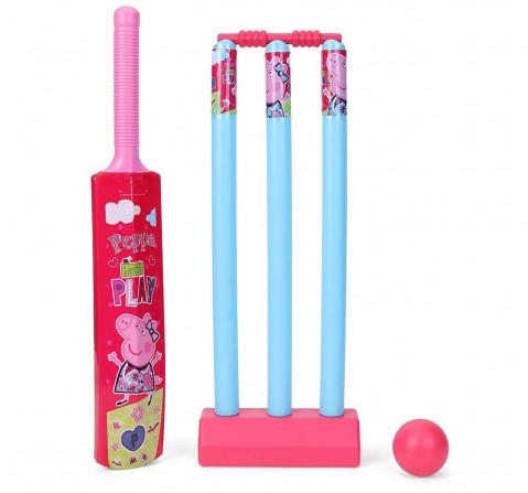 Peppa Pig  Cricket Set Outdoor Sports for Kids age 5Y+