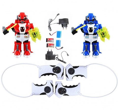 Crazon Remote Control Fighting Robot Pack Of 2  Robotics for Kids age 3Y+