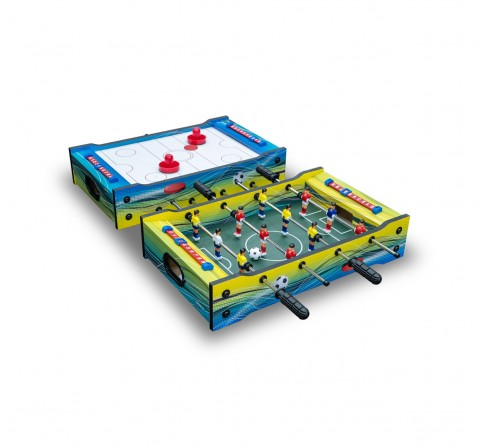 Carromco 51Cms 6-In-1 Table Game for Kids age 6Y+