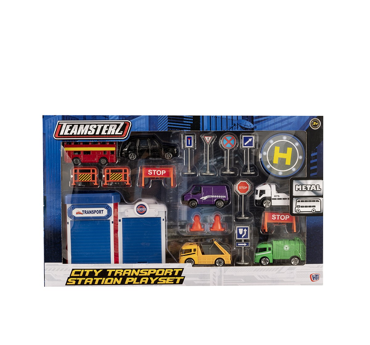 "Teamsterz  3"" Die Casttransport Play Set Vehicles for Kids age 3Y+"