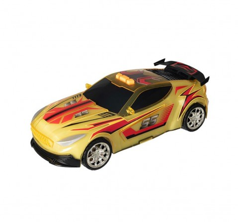 Teamsterz Light And Sound Street Starz Yellow Orange Car Vehicles for Kids age 3Y+