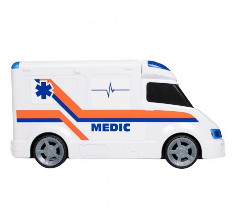 Teamsterz Light And Sound Ambulance Vehicles for Kids age 3Y+