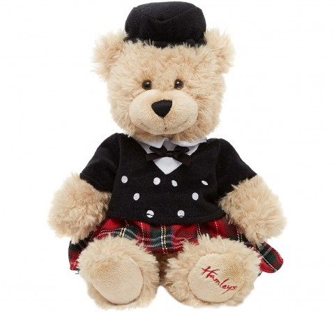 Hamleys Scotsman Teddy Bear 18Cm Teddy Bears for Kids age 12M+ - 18 Cm