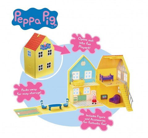 Peppa Pig Deluxe Playhouse Doll House & Accessories for Kids Age 3Y+