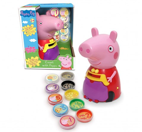 Peppa Pig Count With Learning Toys for Kids age 2Y+