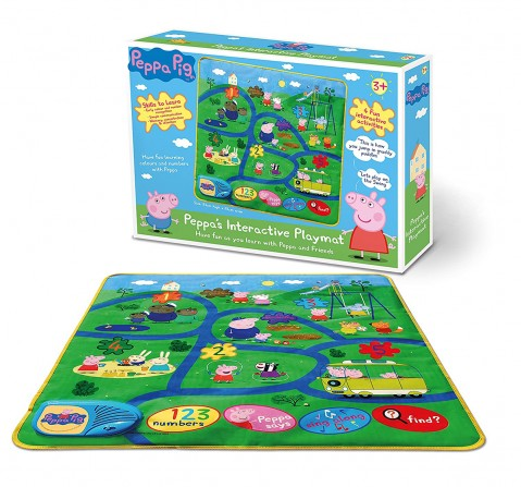 Peppa Pig Interactive Play Mat Baby Gear for Kids age 2Y+