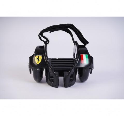 Ferrari Flashing Wheels - Skates and Skateboards for Kids age 6Y+ (Black)